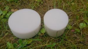 PA6, PA6G, APA, silon, PTFE silonové tyče a desky POM - Polyoxymetylén TYČE KRUHOVÉ v délce 1000mm pr. 12mm - POM - barva bílá plmont