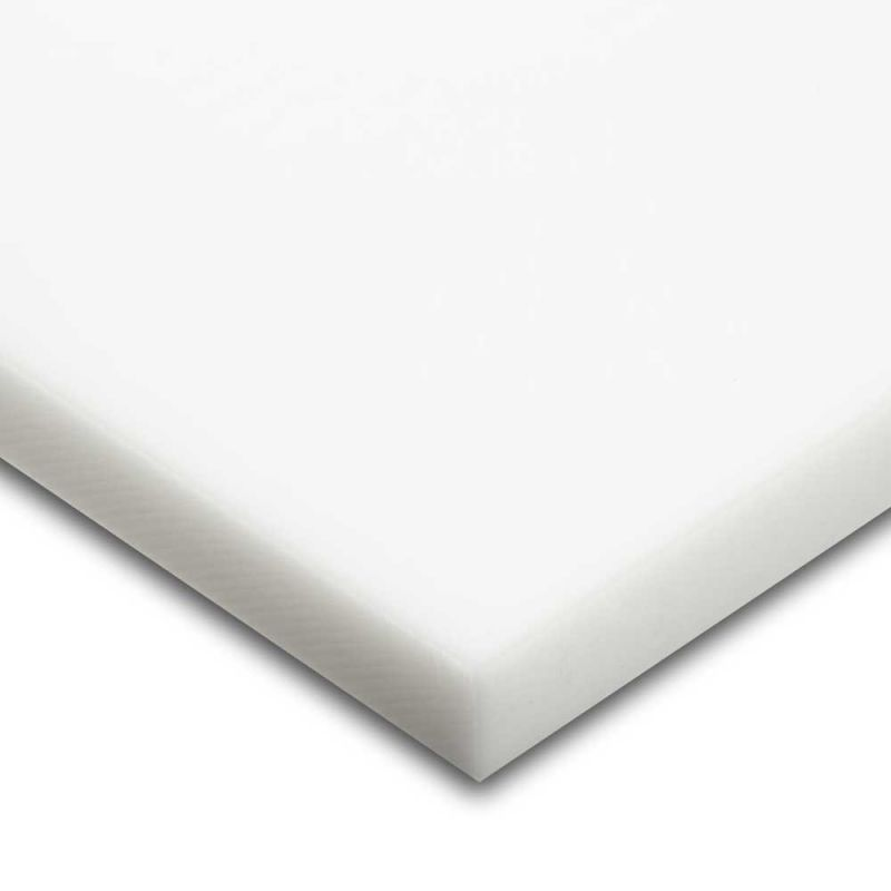 PA6 PA6G APA silon POM PTFE silonové tyče desky TEFLON PTFE deska 300x300x1,5 mm provedení barva bílá plmont
