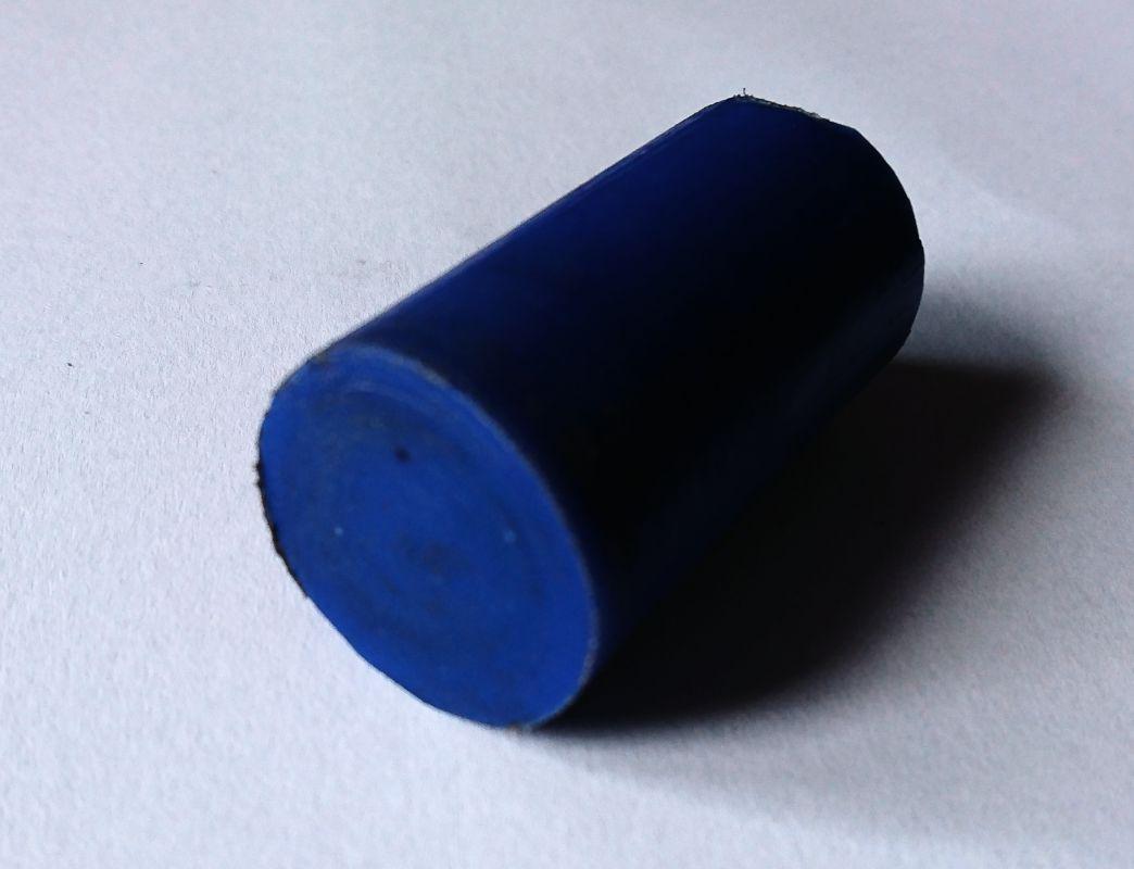 PA6 PA6G APA silon POM PTFE silonové tyče desky alkalický polyamid silon PA6 G Tyče průměr 40 mm - PA6G modrý plmont
