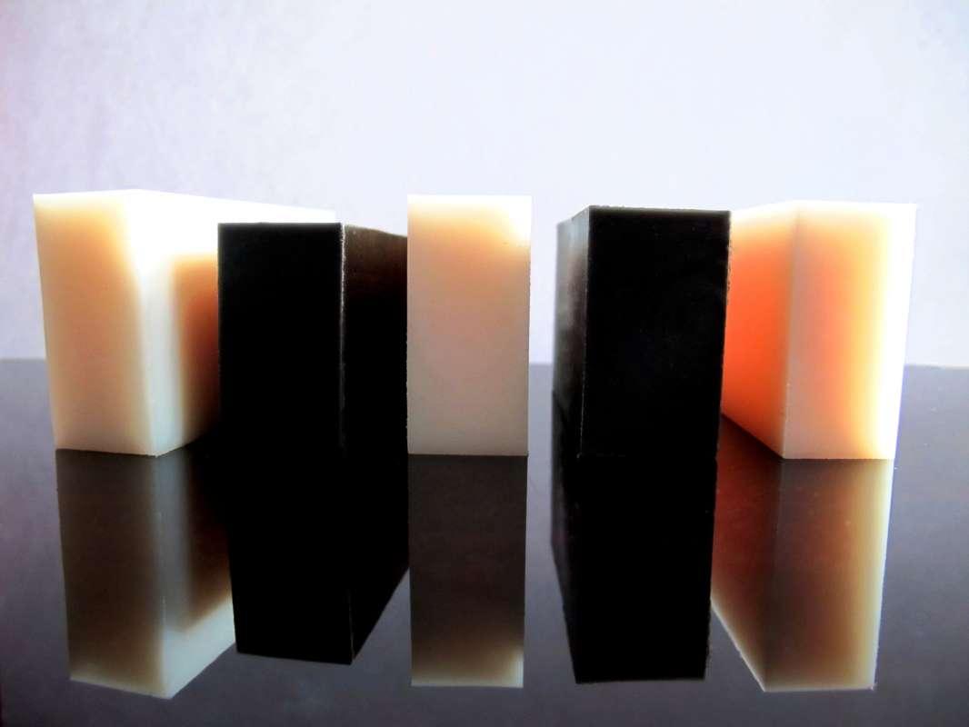 PA6, PA6G, APA, silon, PTFE silonové tyče a desky alkalický polyamid silon PA6 deska tloušťka 20mm plmont